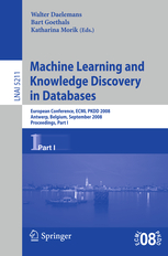 Machine Learning and Knowledge in Databases