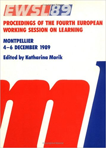EWSL-89 - Proceedings of the 4th European Working Session on Learning